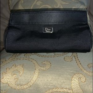 Dior Black Makeup Bag